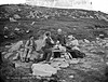 Holy Well, Slieve League, Co. Donegal (National Library of Ireland on The Commons) Tags: robertfrench williamlawrence lawrencecollection lawrencephotographicstudio thelawrencephotographcollection glassnegative nationallibraryofireland holywell slieveleague codonegal ireland ulster tourist hiker sitting offering water drink cap haversack hobnailedboots well guide