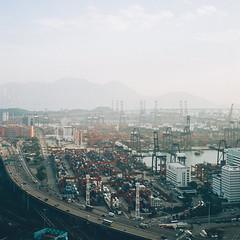 film (magicmoment.z) Tags: film contax t2 city hongkong