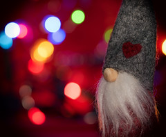 268 Holiday bokeh (Helena Johansson 71) Tags: macromondays holidaybokeh bokeh macro indoor santa christmas project365 nikond5500 nikon d5500 depthoffield