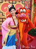 Mulan & Mushu (DecemberWishes) Tags: facecharacter disneyland californiaadventure mushu mulan