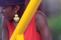 Retrato-Estádio Água Santa-Diadema. (nariobarbosa) Tags: retrato cor negra afro africa amarelo red soccer estadio diadema saopaulo brasil brazilian