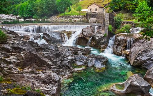 Vogorno, řeka Verzasca