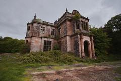 Poltalloch House (SkylerBrown) Tags: abandoned architecture building caltonmor creepy derelict eerie historic manor mansion overgrown poltalloch poltallochhouse scotland spooky travel uk urbanexploration urbex