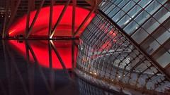 best wishes for 2017 (dan.boss) Tags: 16x9 ciudaddelasartesylasciencias red lips kiss night calatrava valencia