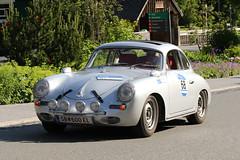 Porsche 356 Carrera Coupe (1959) (Roger Wasley) Tags: porsche 356 carrera coupe 1959 arlberg classic car rally 2016 lech austrian alps austria europe