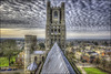 Ely Cathedral (Darwinsgift) Tags: ely cathederal rooftop roof hdr photomatix nikkor pce 24mm f35 nikon d810 architecture cathedral
