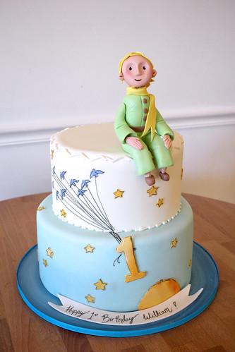 The Little Prince 1st Birthday Cake