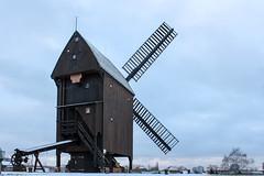 Windmill # (JuliSonne) Tags: windmill windmühle bockwindmühle berlin marzahn winter ländlich flügel korn müller mehl schrotgang holz architektur