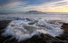 On The Rocks (Panorama Paul) Tags: paulbruinsphotography wwwpaulbruinscoza southafrica westerncape capetown tablemountain blaauwbergbeach rocks waves beach sunset nikond800 nikkorlenses nikfilters
