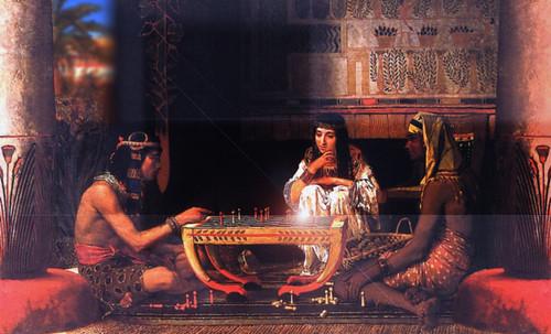 "Senet - Lujoso sistema de objetos lúdicos obsequio del dios Toht a la faraona Nefertari • <a style=""font-size:0.8em;"" href=""http://www.flickr.com/photos/30735181@N00/32399619331/"" target=""_blank"">View on Flickr</a>"