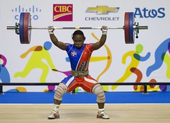 "Canada Pan Am Games Weightlifting • <a style=""font-size:0.8em;"" href=""http://www.flickr.com/photos/137394602@N06/32466045242/"" target=""_blank"">View on Flickr</a>"