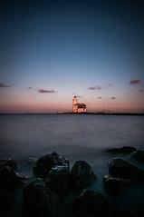 Lighthouse Marken (B. Versteeg) Tags: sky lighthouse holland water nikon colours filter nd vuurtoren marken 10stops