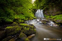 Lynn Spout [IMG_6187] (GammyKnee) Tags: trees water landscape scotland waterfall moss rocks glen foliage lynn spout dalry ayrshire