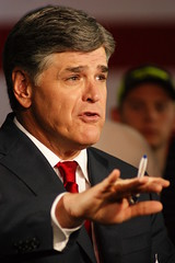 Rick Perry Presidential campaign announcement at the Addison Airport  in Addison,TX on 06/04/2015.Conservative talk show host Sean Hannity.File photo by Jeff J. Newman (JEFF J NEWMAN PHOTOGRAPHER) Tags: usa addisontx foxnewsrepublicanspolitics2016presidentialcampaign