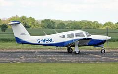 G-MERL PA-28R-201 Arrow IV (PlanecrazyUK) Tags: fly in sturgate 070615 egcv gmerl pa28r201arrowiv