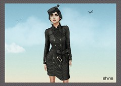 "shine by [ZD] - ""Izzie"" FitMesh Coat (shine & sharp by [ZD]) Tags: life fashion by vintage demo women shine dress place mesh market coat retro sl dresses second marketplace mp boho mode mantel frauen kleidung izzie kleid weiblich zd womenswear inworld zddesign"