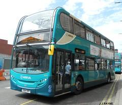 Subbed onto Sapphire (J.J.Pay 8581) Tags: uk bus leicester midlands arriva adl 31a enviro400 dennisalexander yx64vpf