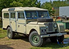 Land rover series 1 34 4U YK (JOHN BRACE) Tags: 1 rally rover steam land series seen 34 4u yk wiston 110715