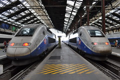 SNCF TGV Duplex 246 & 271 (Will Swain) Tags: city travel paris france train de french grande europe lyon gare transport july rail railway trains des duplex 14th railways français société parisian tgv fer sncf vitesse nationale 246 2015 271 chemins