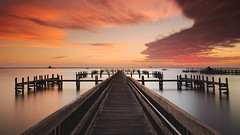 Sunrise over the Cape (josesuro) Tags: fineart sunrise titusville digital longexposure piers afsnikkor1835mmf3545ged landscapes 2016 nikond750 jaspcphotography florida