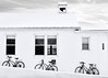 School House 215 (Daveyal_photostream) Tags: blackandwhite snow bike bicycle windows snowy snowscape nikon nikor nature meandmygear mygearandme mycamerabag motion movement d600 geometric monochrome bell schoolbell schoolhouse bnw shades plain stark angles geometricshapes spokes windowshades