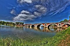 Toulouse (Steff Photographie) Tags: pont toulouse hdr bridge new nature 2017 la lagaronne garonne