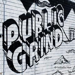 The Public Grind (tycampbe) Tags: ifttt 500px coffee street contrast public black white cafe culture art wall melbourne text graffiti words bricks grind type nikon