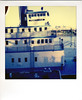The Portland (R. Drozda) Tags: portland oregon tommccallwaterfrontpark sternwheeler tug steamboat nationalregisterofhistoricplaces oregonmaritimemuseum willametteriver drozda polaroid600camera impossibleprojectcolor600film instantfilm