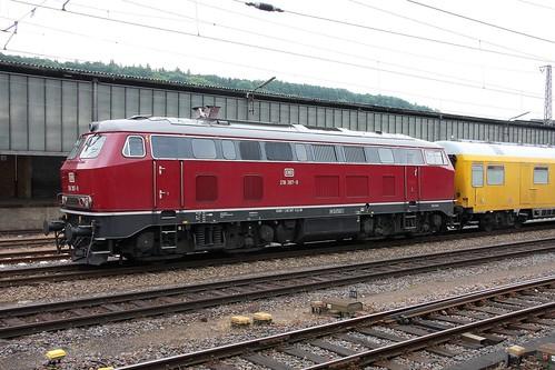 DB Regio 218 387-9 Trier Hbf
