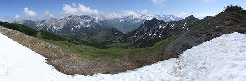 Panorama of the Alps, 17.06.2012.