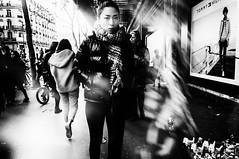 People in the street (KATANGA67) Tags: people paris urban urbain monochrome blackwhite nb noiretblanc bw contrast personnes japonaise female women fujifilmx100 fujix100 x100 photography photo photographie photos street streetphotography stphotographia
