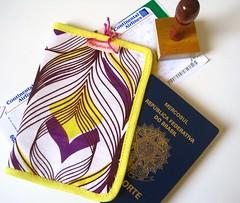 Coentro (Carol Grilo • FofysFactory®) Tags: passaporte portapassaporte viagem trip passport carolgrilo fofysfactory craft handmade moçambique áfrica capulana pouch