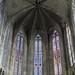 Verrières du choeur, cathédrale St  Just et St Pasteur (XIVe siècle), Narbonne, Aude, Languedoc, Occitanie, France.