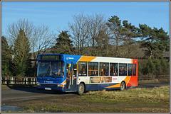 34592, Thrupp Grounds (Jason 87030) Tags: dennis dart thruppgrounds b4026 daventry longbuckby ashbyfields northants northamptonshire sony alpha a6000 ilde nex stagecoach midlands kp04gzm 34592 sunny 2017 january transport bus