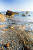Despojos de un mar ([Nelooo]) Tags: mar rocas océano playa agua piedras olas gravilla arena concha nd largaexposicion renegà castellón benicassim