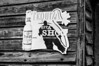Tequila Sign B&W (mslabrat13) Tags: advertisement tequila old crusty cmwdblackandwhite sign caledonia landscape week2
