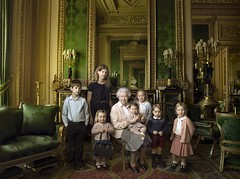 The Queen with the youngest Royals and the boy who one day will be King , ( i had to share this picture i just love it ) (JAMES @ studio 136) Tags: royal queen