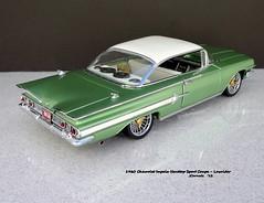 1960 Chevrolet Impala Hardtop Sport Coupe - Lowrider (JCarnutz) Tags: 124scale diecast danburymint 1960 chevrolet impala lowrider