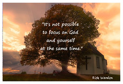 It's not Possible (Templestream) Tags: nature tree sunlight focus rays church johnpiper hedonism christian pleasure truth selfish worship