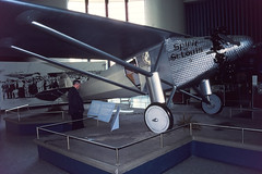 Spirit of St. Louis replica, San Diego Aerospace Museum, March 1982
