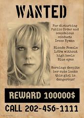 Wanted! (Irene Nyman) Tags: wanted irene nyman dutch tgirl alcatraz irenenyman dutchtgirl blueeyes cilf