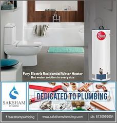 saksam plumbing (sakshamplumbing) Tags: rheem water heaters india fury electric heater luxury comfort with pressurized residential