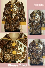 New Arrival!! Original Batik Pekalongan Indonesia  ✔Limited Edition ✔Available on store  BLUS TRIKOT Material : Katun Primis+furing press Size        : XL Color      : on model Price      : IDR 350k  Contact & Online Order : ☎Phone/Line/w.a/Telegram +6289 (indahjaya_batik) Tags: trendbatik batikindonesia batikupdate bajubatik ijbatik batikpekalongan batik batikhalus blouse kainbatik blus batikjourney dressbatik busanabatik dress