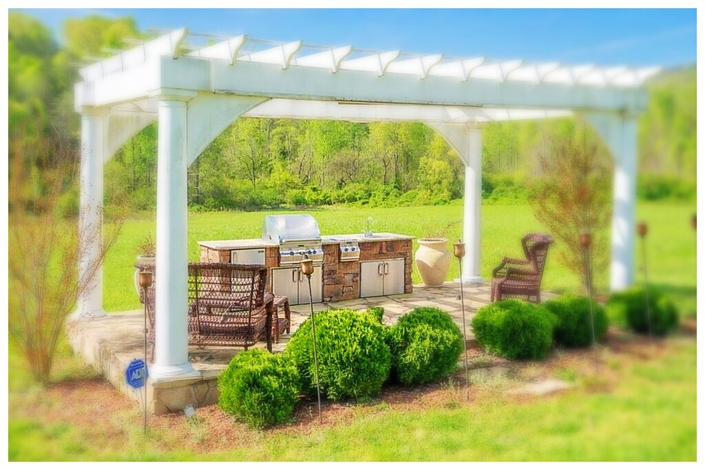 Custom Outdoor Kitchen, Flintstone Ga.