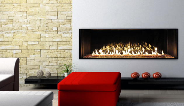 Stellar 7' x 2' Linear Fireplace