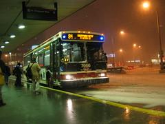 IMG_9844 (djp3000) Tags: toronto ttc bus sheppardyonge snow northyork ttc7666 7666 nightshots orion07501