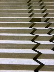 Ribbons (O Caritas) Tags: shadow stairs austin texas steps 2006 february nikoncoolpix8800