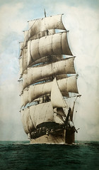 Loch Katrine (Paul Gosney) Tags: scotland sailing ship hand australia colored tallship geelong lochkatrine paulgosney acmp paulgosney