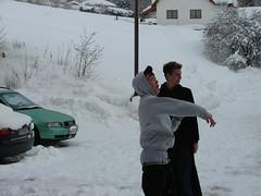 Kami und Dave (austrianpsycho) Tags: schnee winter snow dave kami