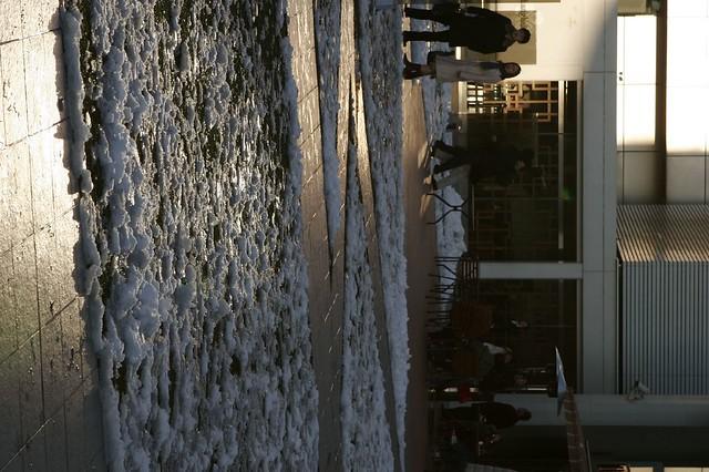 ジグザグ雪かき